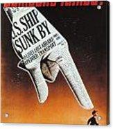 World War II: U.s. Poster Acrylic Print