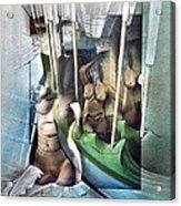 #31 Verticalnudecomp 2003 Acrylic Print by Glenn Bautista