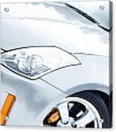 350z Car Front Close-up  Acrylic Print
