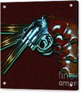 357 Magnum - Painterly Acrylic Print