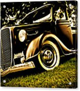 37 Ford Pickup Acrylic Print by Phil 'motography' Clark
