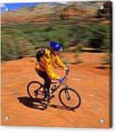 Mountain Bike Acrylic Print