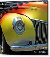 39 Ford Deluxe Hot Rod 3 Acrylic Print