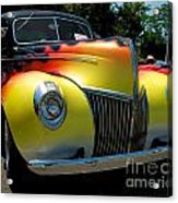 39 Ford Deluxe Hot Rod Acrylic Print