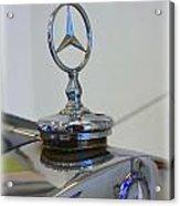 39 Mercedes-benz Emblem Acrylic Print
