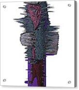 3d Club Hammer Acrylic Print