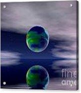 Planet Reflection Acrylic Print