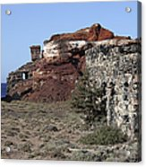 Abandoned Manganese Mine At Cape Vani Acrylic Print