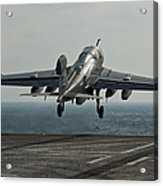 An Ea-6b Prowler Launches Acrylic Print