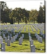 Arlington National Cemetery, Arlington Acrylic Print