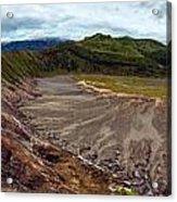 Bromo Crater Acrylic Print