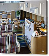 Business Lounge At An Airport Acrylic Print