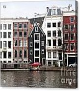 City Scenes From Amsterdam Acrylic Print