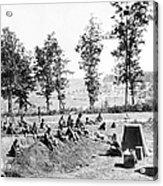 Civil War: Soldiers Acrylic Print