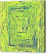 Coloristic Abstracts From Varikallio At Hossa Acrylic Print