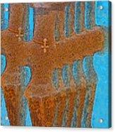 Cyprus Idol Of Pomos Acrylic Print