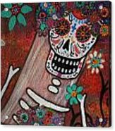 day of the dead BRIDE Acrylic Print