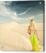Desert Woman Acrylic Print