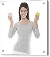 Diet Choices Acrylic Print
