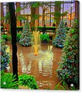 Dupont Gardens Acrylic Print
