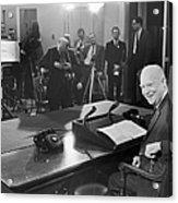 Dwight D. Eisenhower Acrylic Print