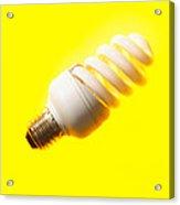 Energy-saving Light Bulb Acrylic Print