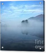 Foggy Lake Acrylic Print