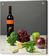 Foods Rich In Quercetin Acrylic Print