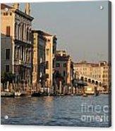 Grand Canal. Venice Acrylic Print