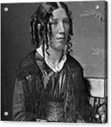 Harriet Beecher Stowe, American Acrylic Print by Photo Researchers