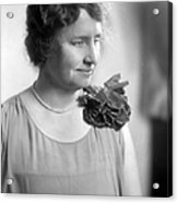 Helen Adams Keller Acrylic Print