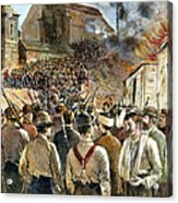 Homestead Strike, 1892 Acrylic Print by Granger