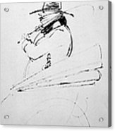 Honore De Balzac (1799-1850) Acrylic Print by Granger