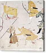 Japan: Mongol Invasion Acrylic Print
