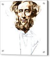 John Tyndall, Irish Physicist Acrylic Print