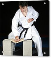 Karate Acrylic Print