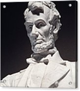 Lincoln Memorial: Statue Acrylic Print by Granger