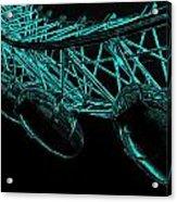 London Eye Digital Image Acrylic Print