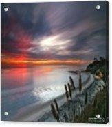 Long Exposure Sunset At A North San Acrylic Print