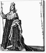 Louis Xv (1710-1774) Acrylic Print