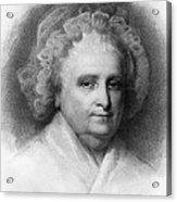 Martha Washington, American Patriot Acrylic Print