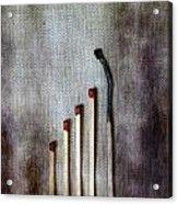 Matches Acrylic Print