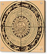 Medieval Zodiac Acrylic Print