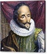 Miguel De Cervantes Acrylic Print
