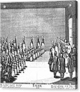 Moravians, 1757 Acrylic Print