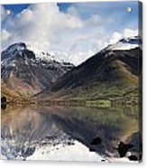 Mountains And Lake, Lake District Acrylic Print