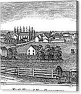 New Jersey, 1844 Acrylic Print