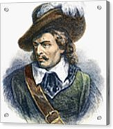 Oliver Cromwell (1599-1658) Acrylic Print