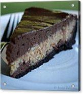 Peanut Butter Chocolate Cheesecake Acrylic Print