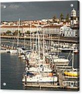 Ponta Delgada Acrylic Print
